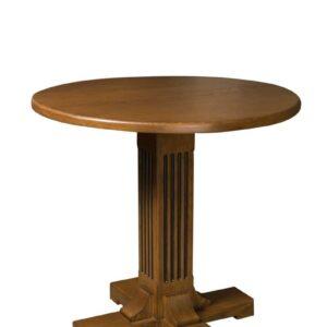 Masa rotunda cu un picior