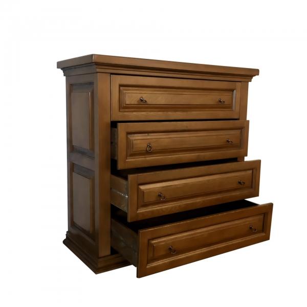 Comoda 4 sertare lemn frasin