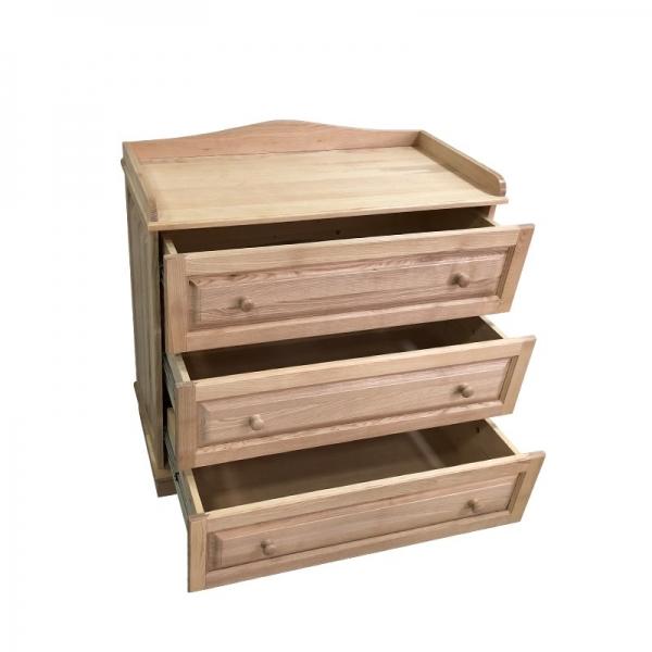 Comoda 3 sertare lemn masiv